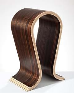 Omega Makassar - Soporte para auriculares (madera de ébano)