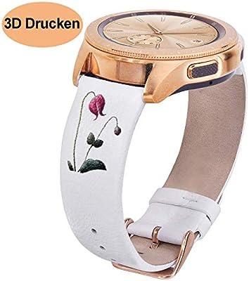 VIGOSS - Pulsera de Repuesto para Samsung Galaxy Watch, 42 mm, 40 ...