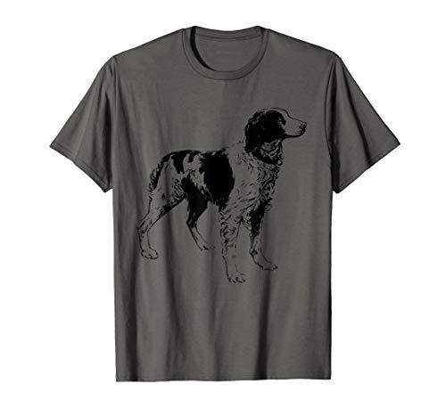 (Brittany Spaniel T-Shirt Brittany Hunting Dog Tee Shirt)