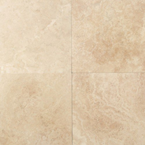 Daltile Travertine Mediterranean Ivory 12 in. x 12 in. Natural Stone Floor and Wall Tile (10 sq. ft. / case) - Daltile Natural Stone