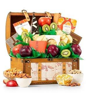 and Gourmet Delight Gift Basket (Gifttree Fruit Basket)