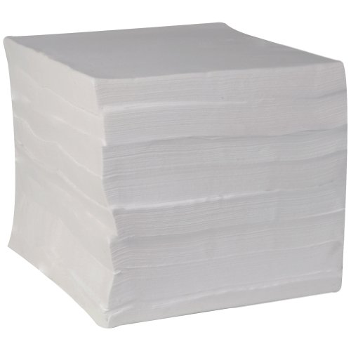 (Essence Impressions Flat Linen Replacement Dinner Napkin by GP PRO (Georgia-Pacific), White, 92120, 1 Case of 1000)