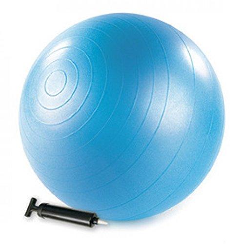 STOTT PILATES Stability Ball (Blue),  22 inch / 55 cm