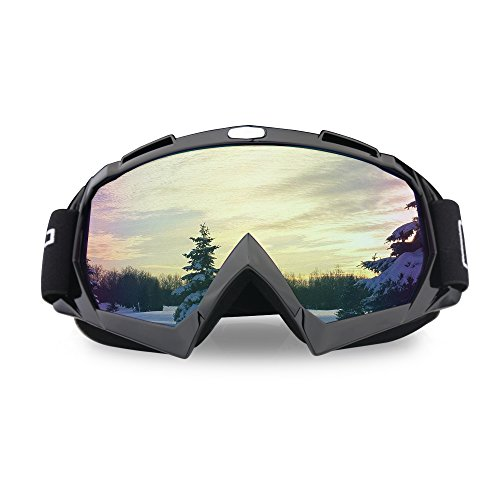 ThyWay Dustproof Outdoor Goggles for Motocross / Bike Riding Wind Skiing Winter Sports - Up Heads Display Sunglasses