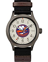 Timex Men's TWZHISLMB NHL Clutch New York Islanders Watch