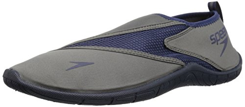 Speedo Men's Surfwalker Pro 3.0 Water Shoes, Grey/Blue, 7 Regular US from Speedo