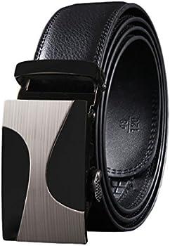 West Leathers Men's Fashion Leather Belt