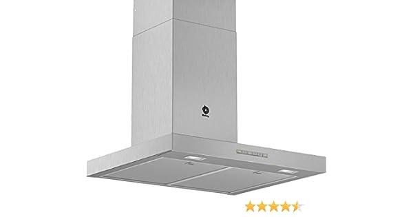 Balay 3BC067EX - Campana (730 m³/h, Canalizado/Recirculación, A, A, B, 64 dB): 210.98: Amazon.es: Grandes electrodomésticos