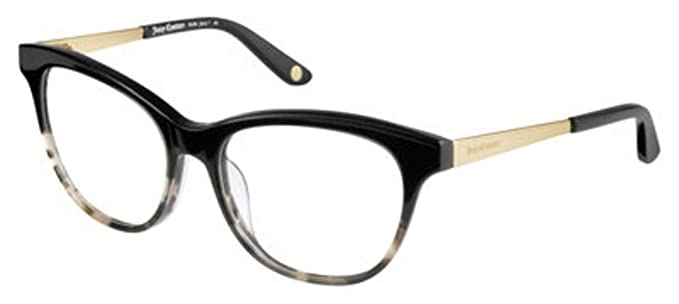 Amazon.com  JUICY COUTURE Eyeglasses 161 0GO8 Black Tortoise  Clothing 1edb4b8405