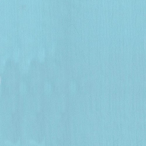 """60"""" Aqua/Turquoise Iridescent Polyester Chiffon-15 Yards Wholesale by the Bolt"""