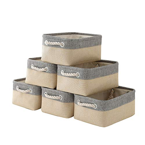 pulnimus Fabric Storage Baskets 12