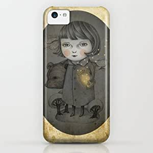 Come Night iPhone & iphone 5c Case by Amalia K