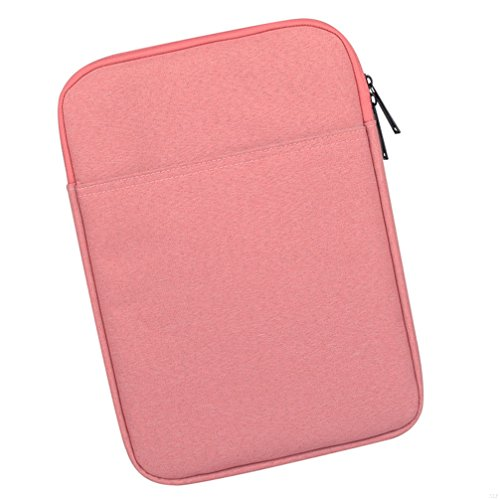 SLBGADIEME Zipper Sleeve Pouch Tablet Notebook Bag 10 Inch 10 Ipad Carrying Case Notebook Tablet Bag Laptop 10 Bag Zipper Case With Pockets 10 Tablet Carrying Case Notebook Zipper Bag Pink 10 Inch