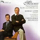 Mozart: Piano Concertos No.22 K.482 & No.23, K.488
