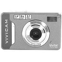 Vivitar Vivicam 5022 Digital Camera (Silver) - 5022SL At A Glance Review Image