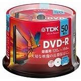 TDK 録画用 DVD-R 50枚 16倍速 ワイドプリント仕様  MDR120-DPWC50PL