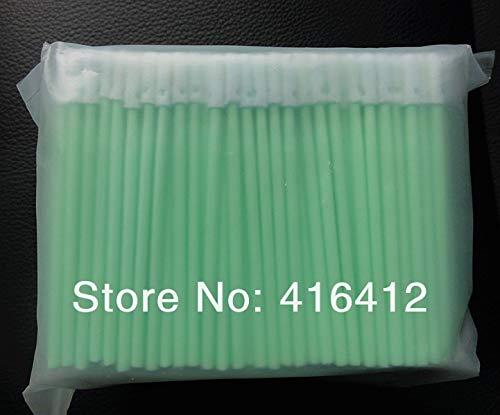 Printer Parts 2000 pcs Clean Room Micro swabs Cleanfoam 3'' Swabs - Alternative to Texwipe TX742B Micro Foam Swabs