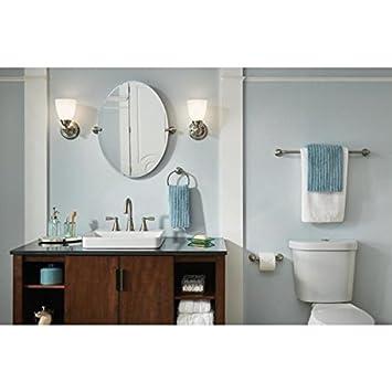 moen banbury 3 piece bath accessory kit in brushed nickel - Bathroom Accessories Kit