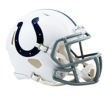 NFL Fan Set Etiqueta y Riddell Mini Speed Casco, INDIANAPOLIS COLTS: Amazon.es: Deportes y aire libre