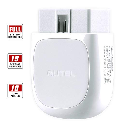 - Autel AP200 OBD2 Scanner Bluetooth Car Code Reader with All System Diagnoses and Service Functions Professional Automotive Scan Tool for iPhone Android