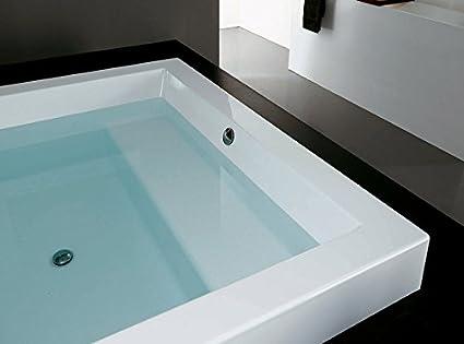 Vasca Da Bagno Non Incassata : Vasche da bagno zucchetti kos grande vasca ad incasso grande step