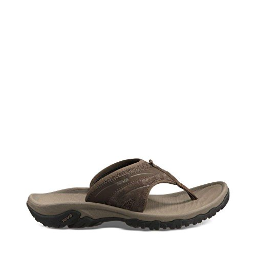 Pictures of Teva Men's Pajaro Flip-Flop Brown D(M) Mens 1
