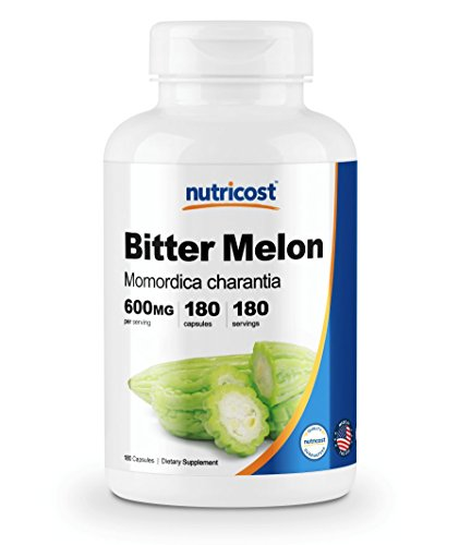 Nutricost Bitter Melon 600mg, 180 Capsules For Sale