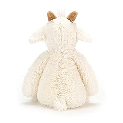 Jellycat Bashful Goat Stuffed Animal, Medium, 12 inches: Toys & Games