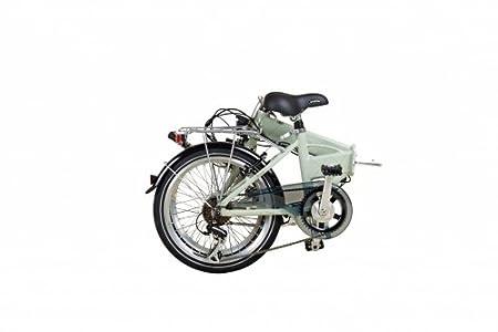 20 Pulgadas Bicicleta plegable para E-Bike bicicleta vaun Egon gris: Amazon.es: Deportes y aire libre