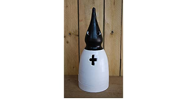 Nazareno para incienso negro y blanco 28 x 11 cm: Amazon.es ...