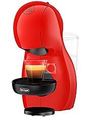 De'Longhi NESCAFÉ Dolce Gusto Piccolo XS EDG210.R Macchina Automatica per caffè Espresso e Altre Bevande Red, 1600 W, 0.8 Litri, plastica, Rosso