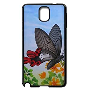 Butterfly New Printed Case for Samsung Galaxy Note 3 N9000, Unique Design Butterfly Case