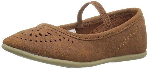 Girls Brown Dress Shoes - 5