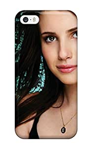 Jim Shaw Graff's Shop New Style 6130591K39877998 New Premium Case Cover For Iphone 5/5s/ Emma Roberts?wallpaper Protective Case Cover