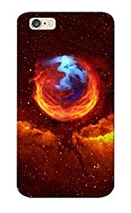BgLBIxs989HSsVn Tpu Phone Case With Fashionable Look For Iphone 6 - Firefox Case For Christmas Day's Gift