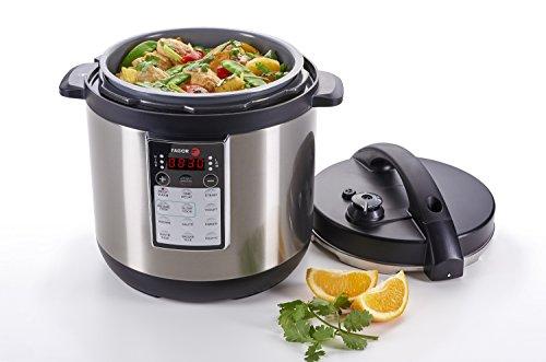 Yogurt Cake Recipe In Pressure Cooker: Fagor LUX Multi-Cooker, 8 Quart, Electric Pressure Cooker