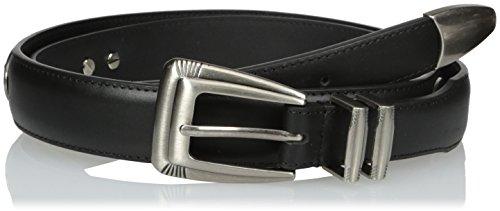 Auburn Tigers Black Leather (NCAA Auburn Tigers Black Tip Leather Concho Belt, 44)