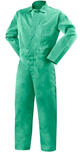 Steiner 1035-2X Coverall, Weldlite Green 9-Ounce Flame Retardant Cotton, 2X-Large