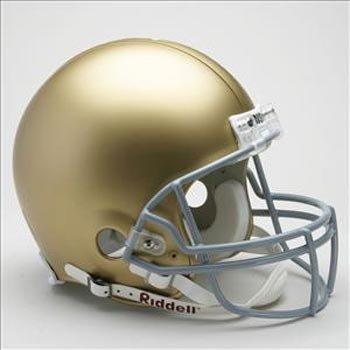 Notre Dame Fighting Irish NCAA Riddell Full Size Authentic Helmet