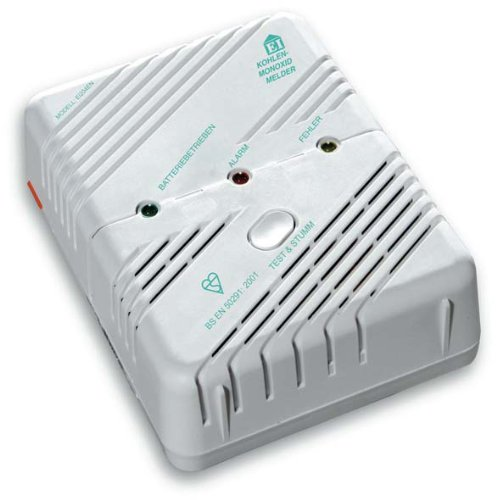 Detectores de humo Ei Electronics Ei204 - detector de monóxido de carbono para su seguridad - blanco: Amazon.es: Bricolaje y herramientas