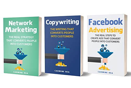 Online Marketing: 3 Manuscripts - Network Marketing, Copywriting, Facebook Advertising (with tips about Social Media Marketing, How To Create A Profitable Business)