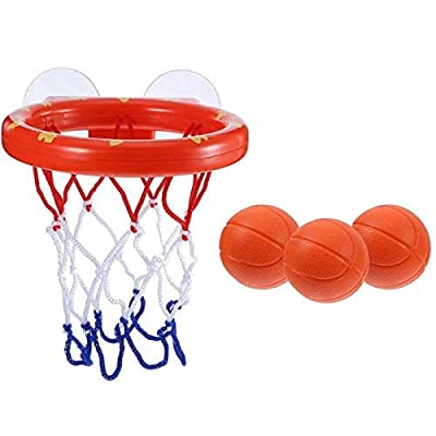Toddler Bath Toys Kids Basketball Hoop Bathtub Water Play Set for Baby Girl Boy: Beauty