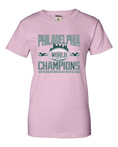 (XX-Large Pink Womens Philadelphia World Champions Champs)