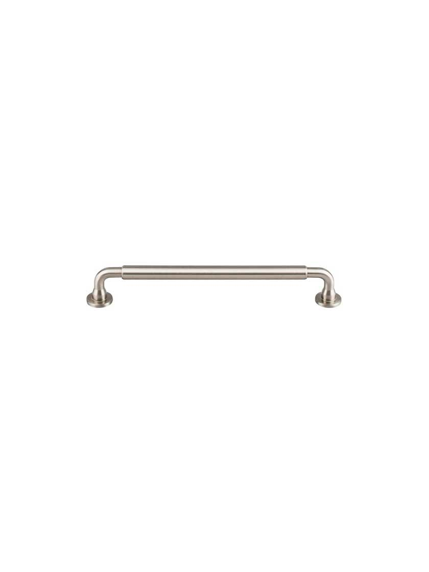 Top Knobs TK825BSN Serene Collection 7-9/16'' Lily Pull, Brushed Satin Nickel by Top Knobs