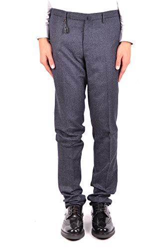 Blu Incotex Mcbi34946 Pantaloni Uomo Lana wwTOIY