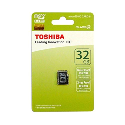 Toshiba 32 GB Class 4 Micro SDHC Memory Card