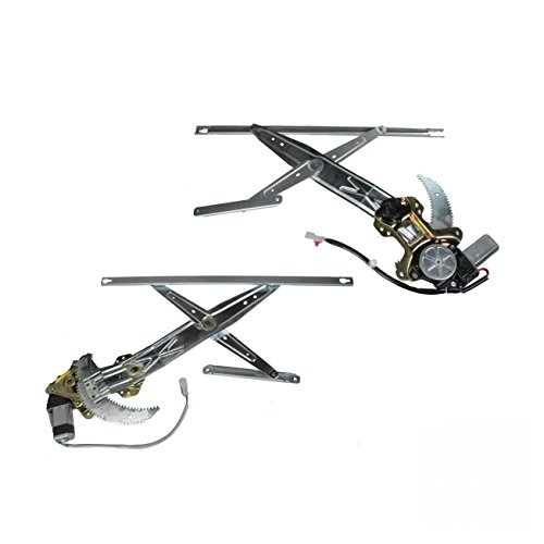 Power Window Regulators with Motor Pair Set for 96-00 Honda Civic 2 Door 2000 Honda Civic 2 Door