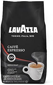 Lavazza Caffe Espresso Whole Bean 2.2Lb Coffee Blend