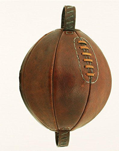 Vintage style Leather lace-up Boxing Punch Ball by British Sports Museum