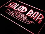 ADVPRO Salad Bar Cafe Enseigne Lumineuse LED Neon Sign Red 12'' x 8.5'' st4s32-i089-r
